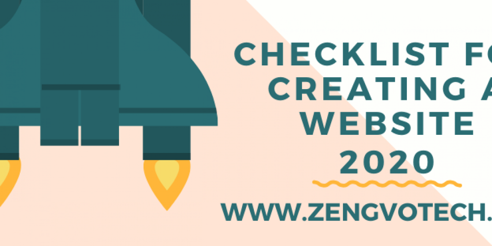 Checklist for Creating a Website